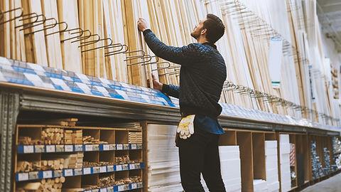 selecting wood