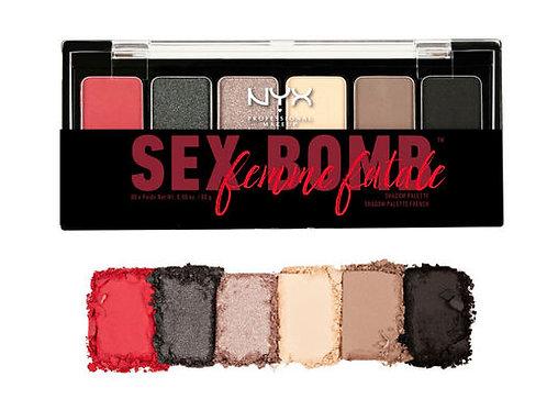 Paleta de sombras sex Bomb Femme Fatale -NYX