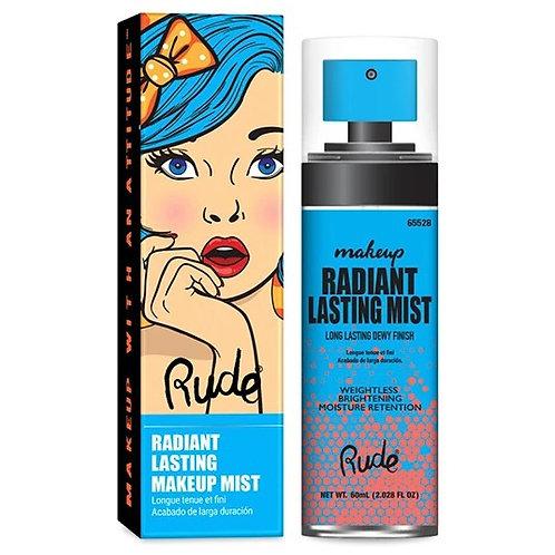Fijador Radiant Lasting Makeup Mist -Rude Cosmetics