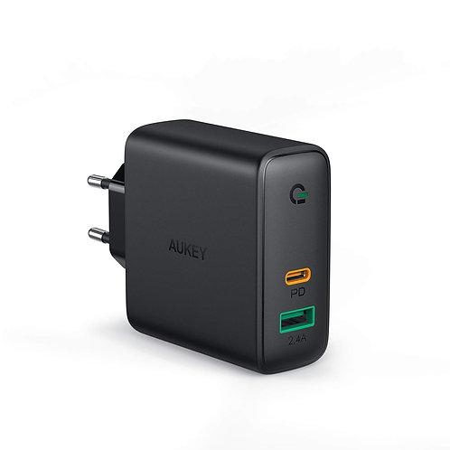 Сетевое зарядное устройство Aukey PA-D3 Dynamic Detect