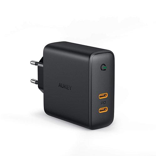 Сетевое зарядное устройство Aukey PA-D5 Dynamic Detect