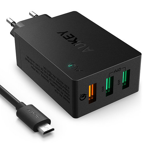 Сетевое зарядное устройство Aukey PA-T14