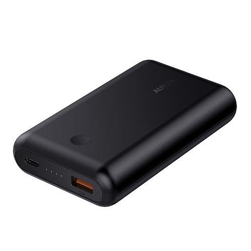 Внешний аккумулятор - Aukey PB-XD10 (10050mAh) Power Delivery 18W + QC3.0