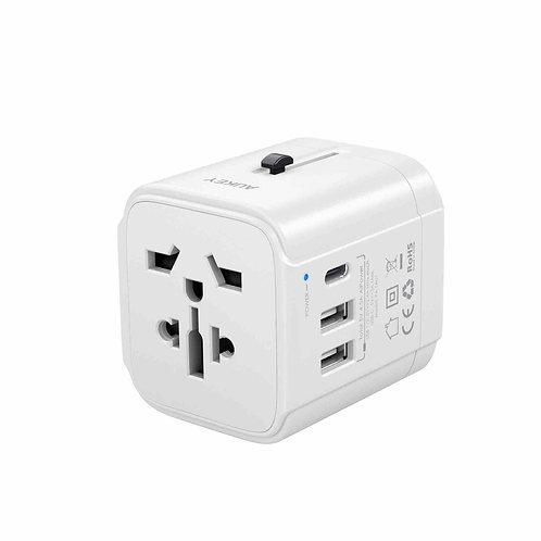 Универсальное зарядное устройство Aukey PA-TA01 white