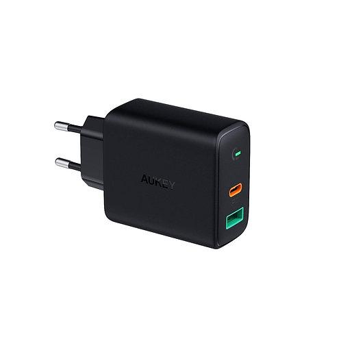Сетевое зарядное устройство Aukey PA-D1 Dynamic Detect
