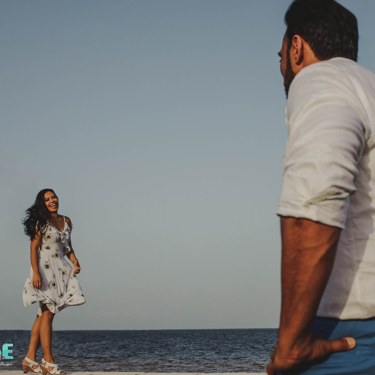 Playa del Carmen Engagement Photos