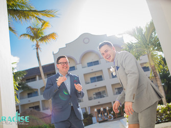 Same Sex Wedding, Playa del Carmen
