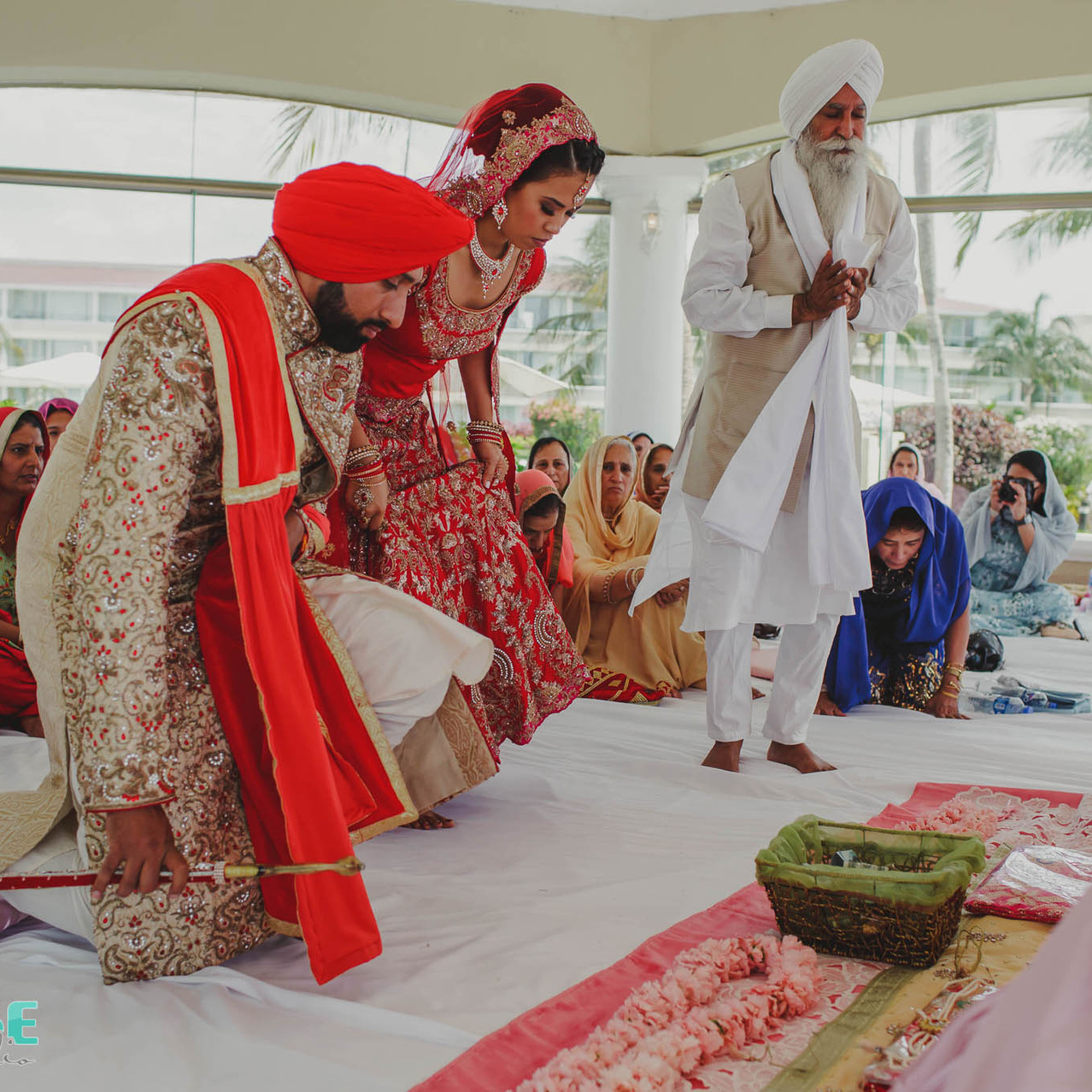 Anand Karaj wedding Ceremony