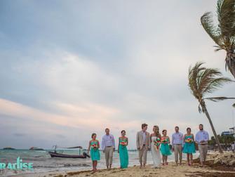 Indigo Beach, El Taj Mexico Destination Wedding