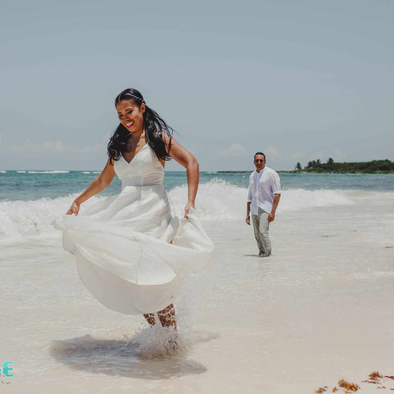 trash the dress beach