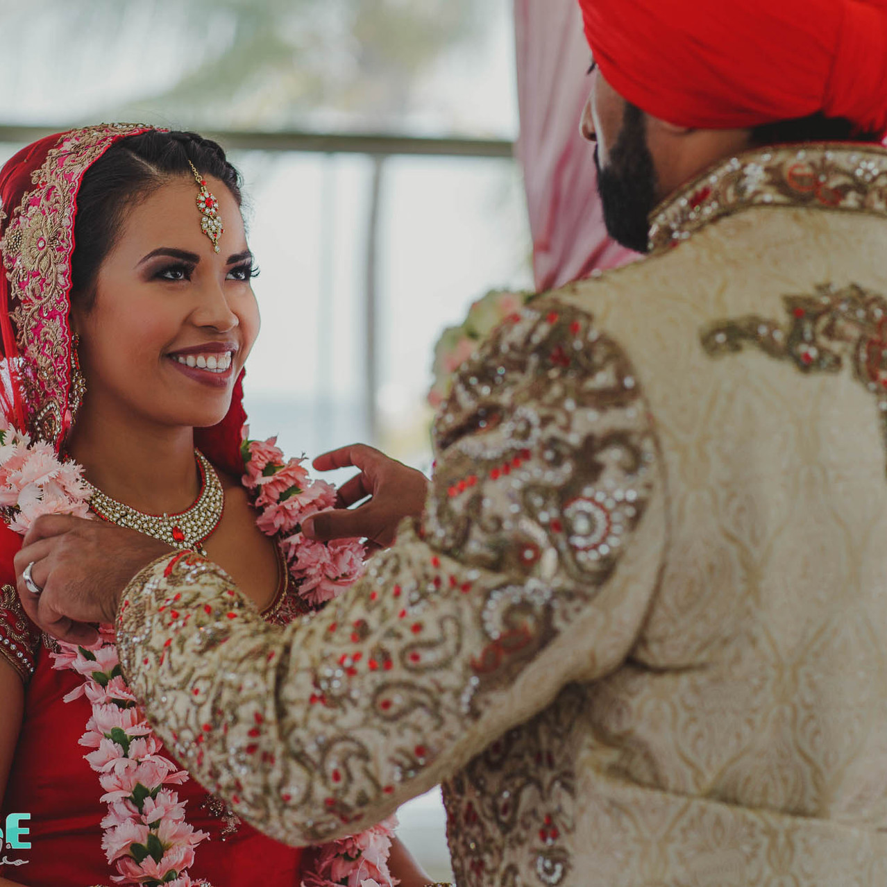 Anand Karaj wedding bride