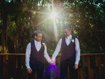 The Fives Azul Beach Resort Wedding- Marc & Carlos
