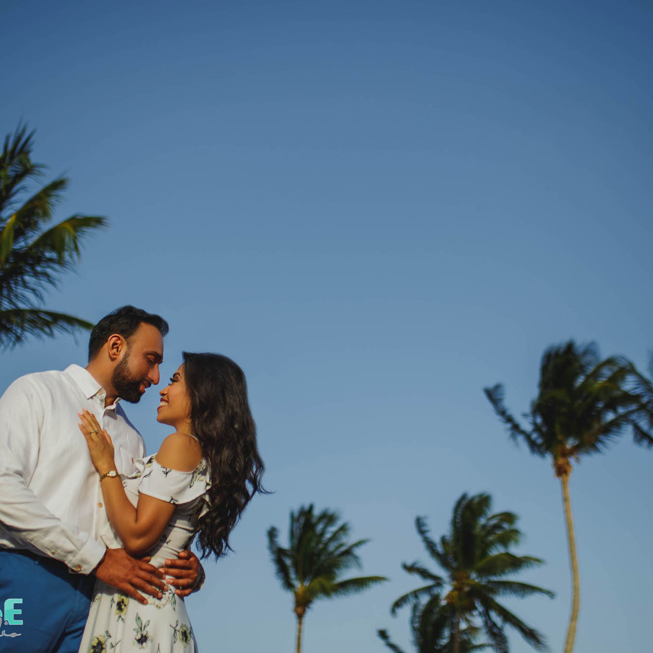 3playa del carmen engagement photos