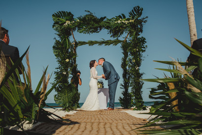 An intimate yet luxurious wedding at Fairmont Mayakoba
