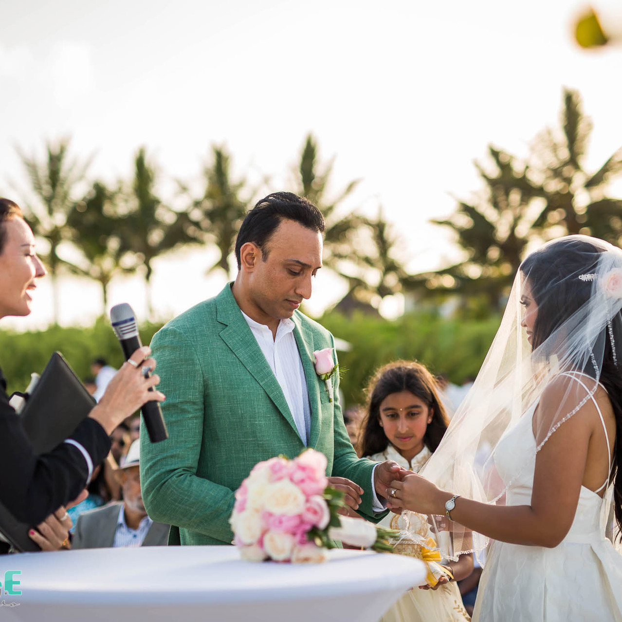 rivera Maya beach wedding