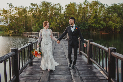 Banyan Tree Mayakoba Wedding - Courtney and Brian