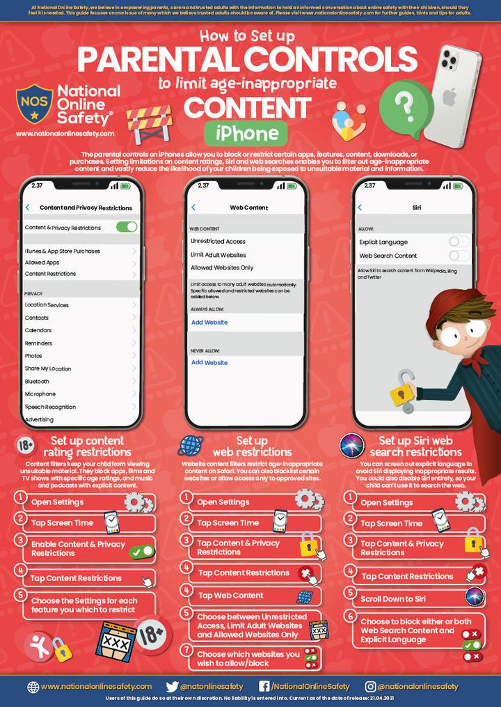 Parental Controls for iPhone