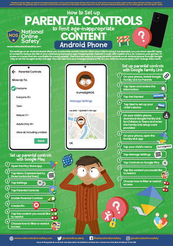 Parental Controls for Android phones