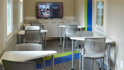 BFS Provides Classroom Furniture for Rotary Learning Lab