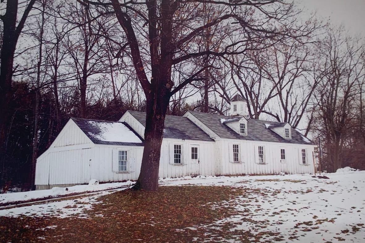 Farmhouse Study: Library