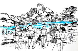 1000 Island Lake - Sierra Nevada