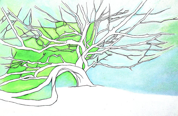 Custom Tree Portrait