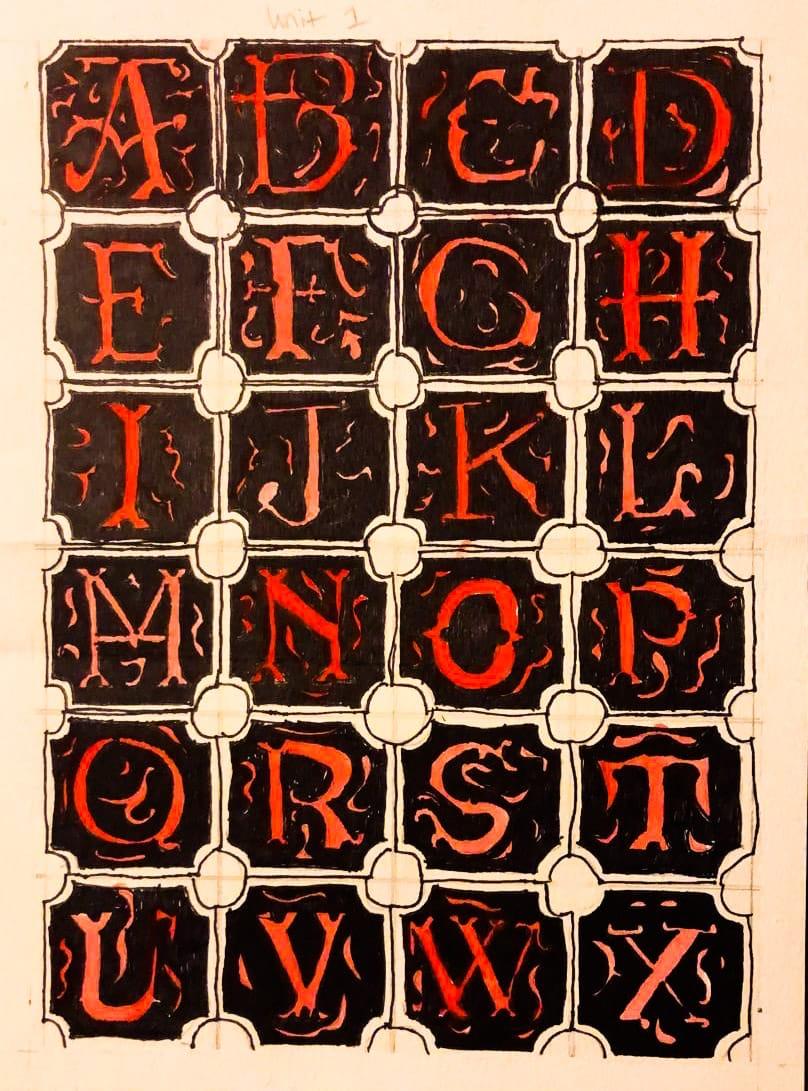 Medieval Lettering