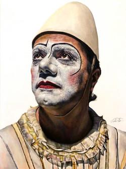 White Clown Laid Off