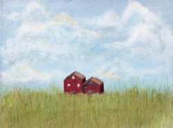 Barn In The Clouds