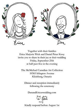 Wedding Invite Art + Design Package