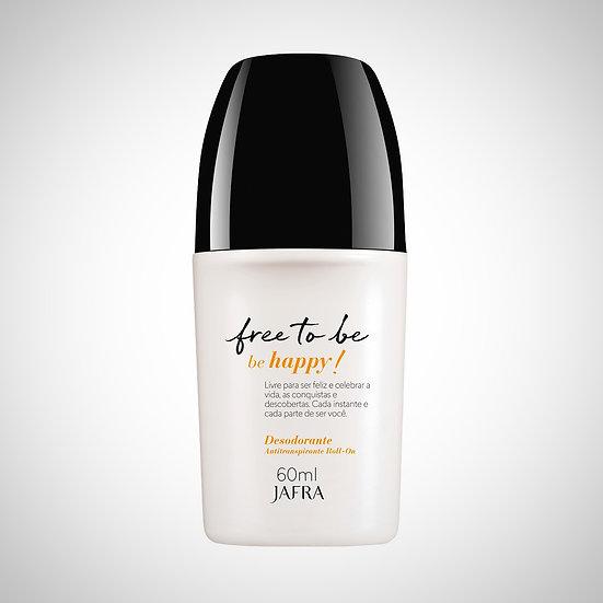 Free To Be - Be Happy - Desodorante Antitranspirante Roll-On, 60ml