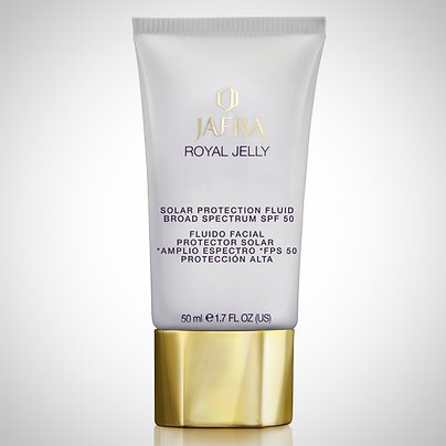 Royal Jelly Ritual Fluido Facial Protetor Solar Amplo Espectro FPS 50, 50ml