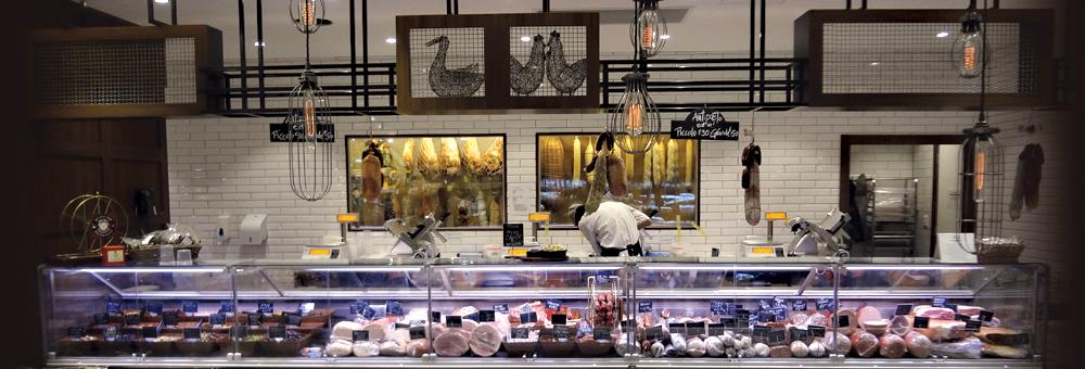 Italian deli store