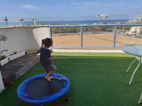 5 room garden sea view rental