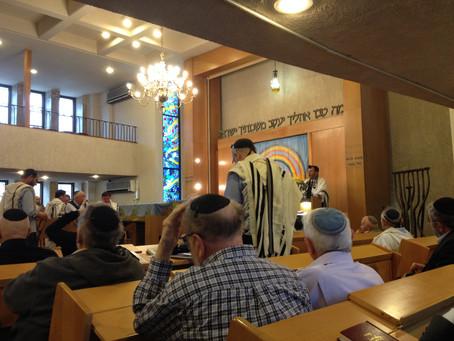 Opening of our Shul gates פתיחת שערי בית הכנסת