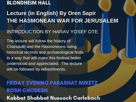 Chanukah at Hovevei