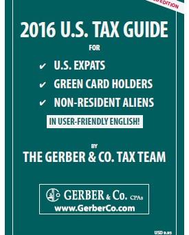 2016 U.S. Tax Guide