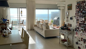 Penthouse directly opposite beach