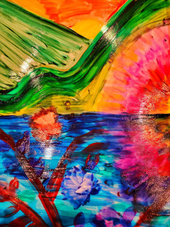 Artists in our community have contributed paintings for the exhibit.