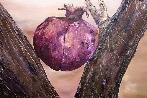 Pomegranate Painting - The Pain of Desire