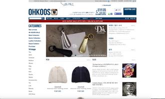 ソウルのセレクトショップ 『OHKOOS』 取り扱い開始のお知らせ