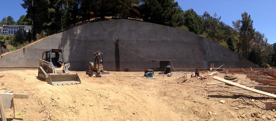 60 ' Retaining Wall