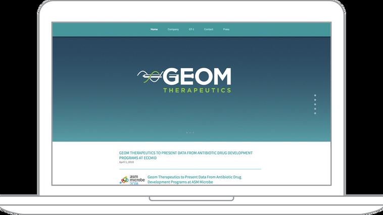 GEOM Therapeutics Brand Management
