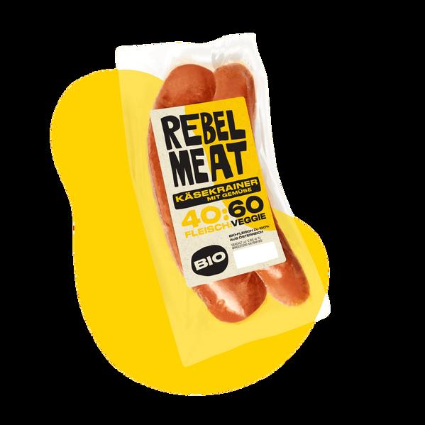 REBEL MEAT  BIO KÄSEKRAINER