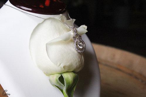 Vintage Style Diamond Pendant