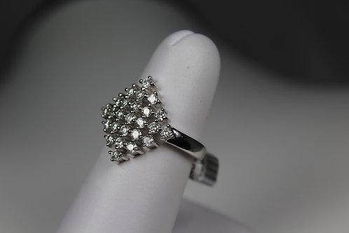 Diamond Kite Ring