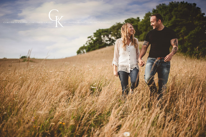 James & Paige's Engagement Session