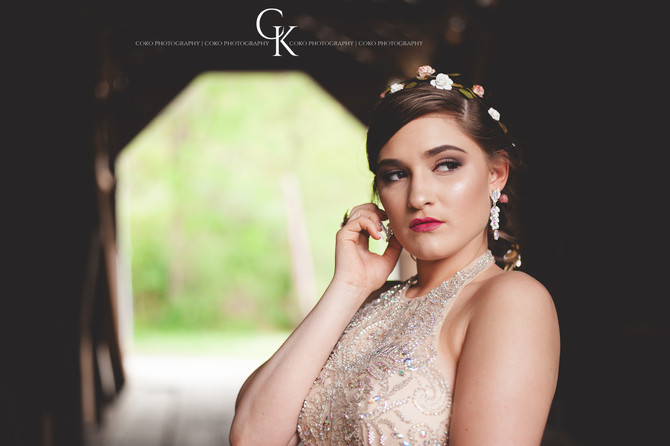 Savannah's Prom Session