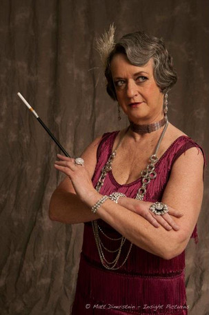 Sandy Gulliver playing flapper Chicago actor