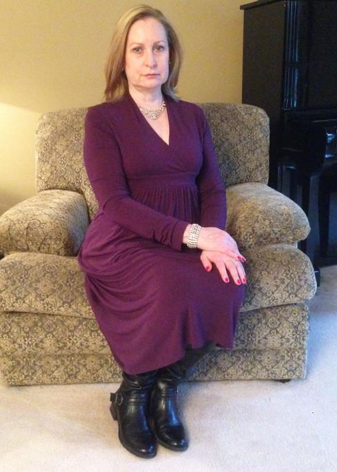 Ann Myrna Seated